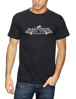 Plastic Head Men S Mastodon Leviathan Logo T Shirt T Shirt Men Black Short Sleeve Cotton