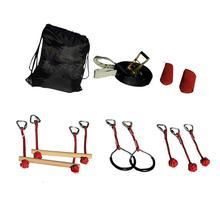 Детский скалолазающий канат, линия ниндзя, обучение с препятствиями, тренировочное оборудование для детей, спортивное оборудование для активного отдыха на открытом воздухе