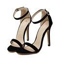 Plus Size 35-43 Sandálias Das Mulheres Do Partido Verão Marca Elegantes Saltos Altos Sandalias Mujer Preto de Prata de Ouro das Mulheres vestido Sapatos Sandália