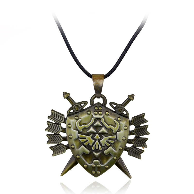 Princess Zelda Jewelry: Zelda Princess Necklace Pendant For Women Men Arrow Sword