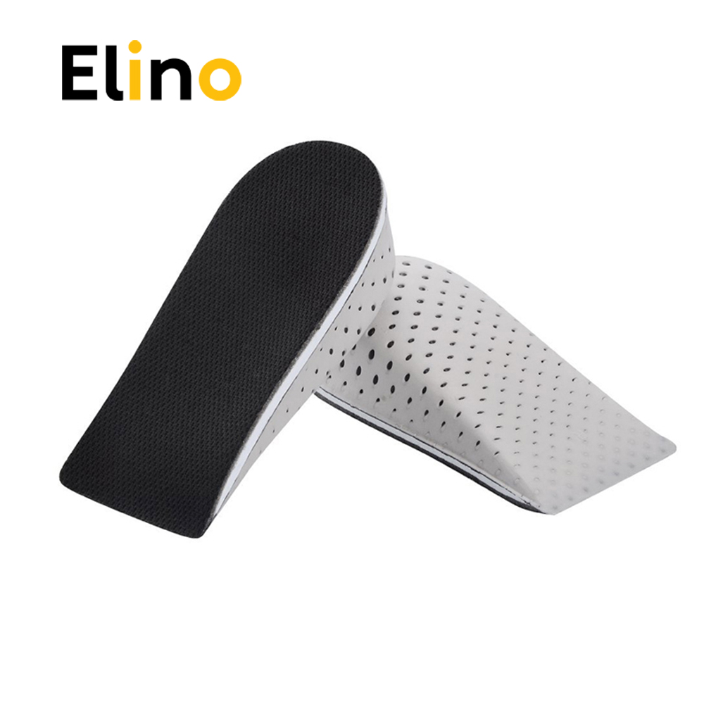 Elino EVA Memory Foam Invisible Half Height Increase Insole for Men Women Taller Shoe Inserts Heel Cushion Pads Height Insoles