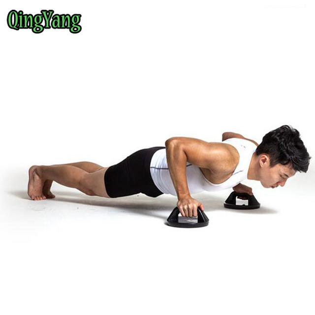 Ejercicios rotating empuja hacia arriba Grips. Push up bares fuerza  muscular ejercicio bar pushup pro c0a5cdec9ffb