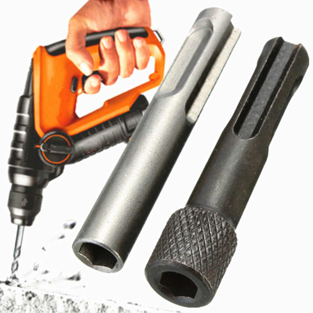 2PCS Hex Shank Screwdriver Holder Drill Bit Adapter 1/4 Converter Socket Nut Impact Driver Set for for ابزار حفاری SDS Hammer