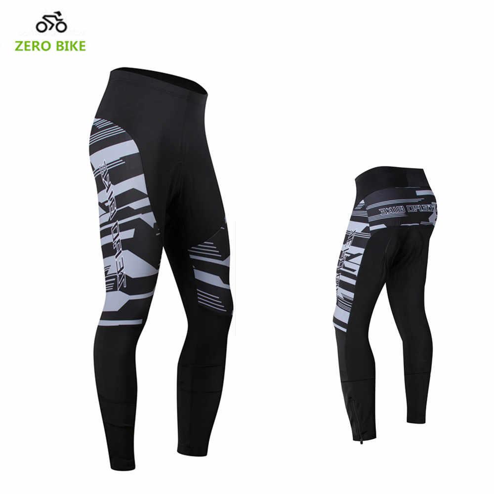 אפס אופני גברים של אופני הרים חיצוניים ארוך מכנסיים האביב/סתיו רכיבה על אופניים רכיבה מקצועי 3D ג 'ל מרופד