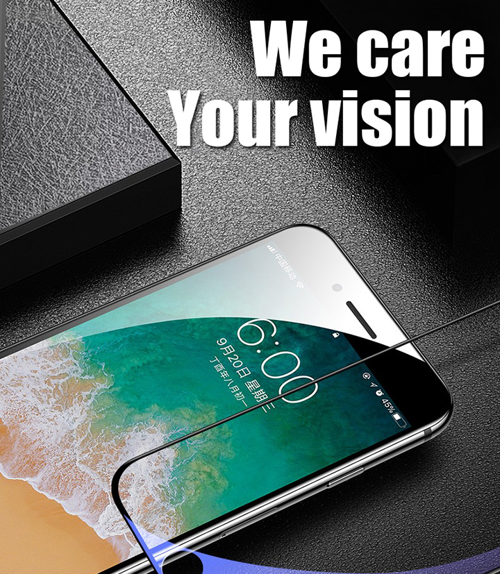 HTB1wBlhbRGw3KVjSZFwq6zQ2FXax 15D Protective Tempered Glass On The For iPhone 6 6s 7 8 Plus X 10 Glass Screen Protector Soft Edge Curved For iPhone XR XS MAX