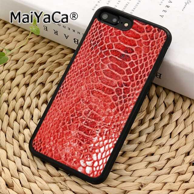 MaiYaCa ファッションクールスネークスキンテクスチャ写真電話ケースカバー iphone 11 プロ 6s 7 8 × XR XS マックスギャラクシー S6 S7 エッジ S8 S9 プラス