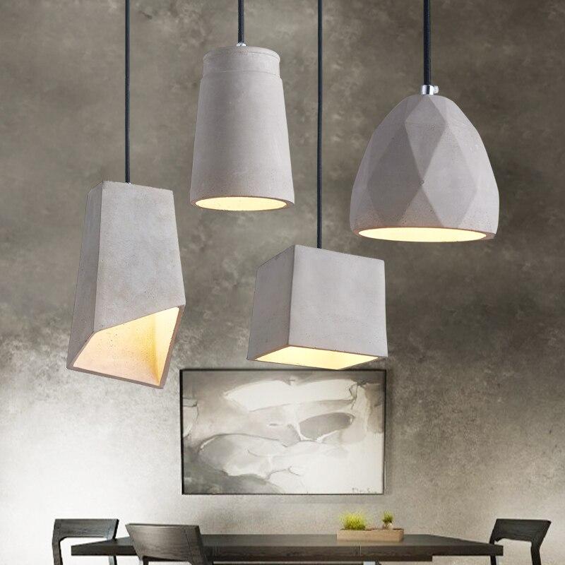 Silicone béton abat-jour moule bricolage meubles de maison moules ciment style maison silicone forme béton lustre moule