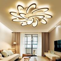 Modern Acrylic Design Ceiling Lights Bedroom Living Room 90~260V White Ceiling Lamp LED Home Lighting Light Fixtures plafonnier