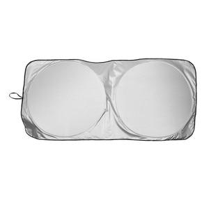 Image 4 - Frente del coche parabrisas trasero sombrilla cubierta reflectante parabrisas de coche sol sombra plegable sombrilla persiana UV parasol Protector