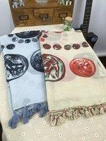 Phụ nữ Khăn Quàng Cổ 2016 Thiết Kế Mới Cao Thời Trang Chất Lượng Cotton Blend Phụ Nữ Scarf Lady Thiết Kế Mới Nhật Bản Phong Cách In Pashminas Khăn