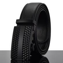 REGITWOW Fashion Cheetah Men Automatic Buckle Leather luxury Tactical Belts