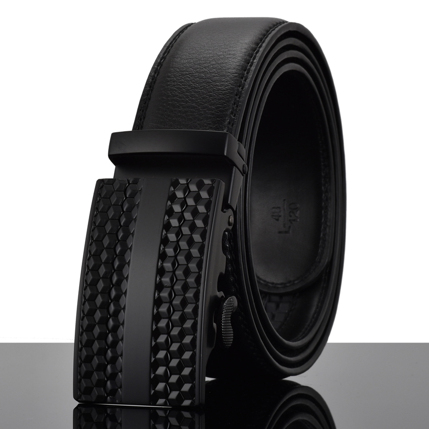 Apparel Accessories ... Belts ... 32219959228 ... 4 ... WOWTIGER Fashion Designers Men Automatic Buckle Leather luxury Belt Business Male Alloy buckle Belts for Men Ceinture Homme ...