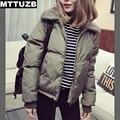 MTTUZB Nuevo diseño mujeres de la manera delgada de manga larga chaqueta de abrigo de señora otoño invierno mujer abrigos casual outwear feamle