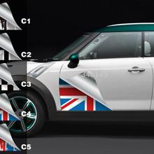 Aliauto 2 x авто-Стайлинг боковой двери наклейка и таблички аксессуары для mini cooper Countryman R50 R52 R53 R58 R56