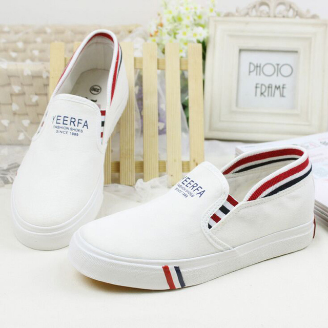 high quality Women casual shoes 2016 spring low white women shoes breathable Women Flat canvas shoes Zapatillas mujers