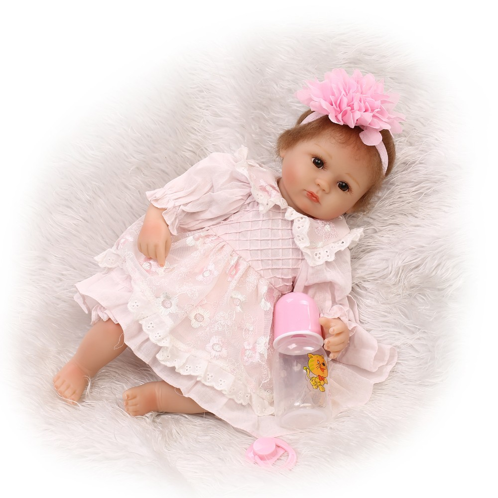 40cm Slicone reborn baby doll toy lifelike princess newborn girl babies doll play house toys for kid soft body collectable doll40cm Slicone reborn baby doll toy lifelike princess newborn girl babies doll play house toys for kid soft body collectable doll