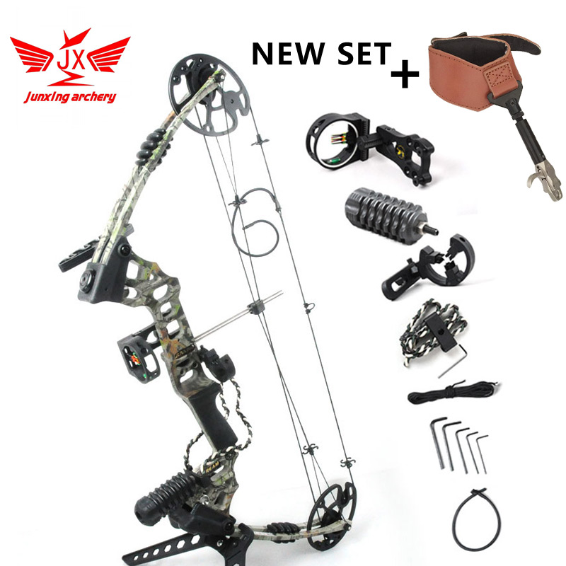 YZ JUNXING ARECHERY Aluminum Alloy Compound Bow With 20 70 lbs Draw Weight for human outdoor