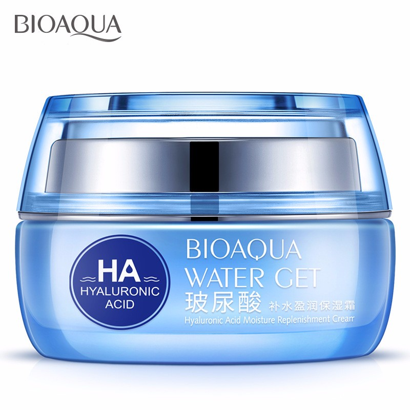 Hyaluronic Acid Face Moisturizer Cream Deep Hydrating Anti-Wrinkle Face Cream Korean Facial Day Cream Cosmetic For Dry Skin 50g 19