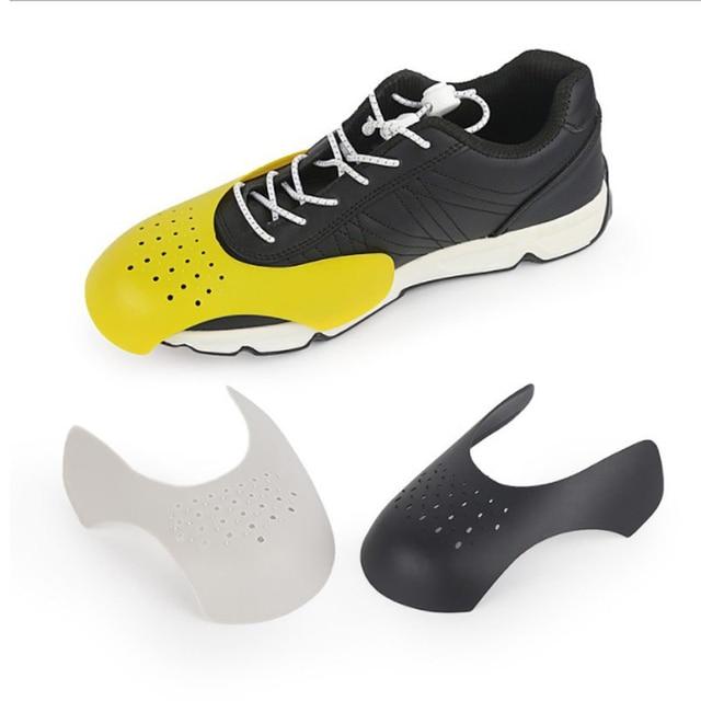 รองเท้า Shield รองเท้าผ้าใบ Shields Anti - Crease พับรองเท้าสนับสนุนดัด Crack Toe Cap รองเท้า Strecher Protector