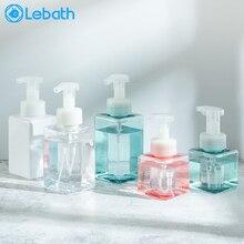 Lebath пенообразователь, гель для душа, шампунь, бутылка для дезинфекции рук, бутылка для прессования, пенопластовое средство для очищения лица, отжимная пенопластовая бутылка