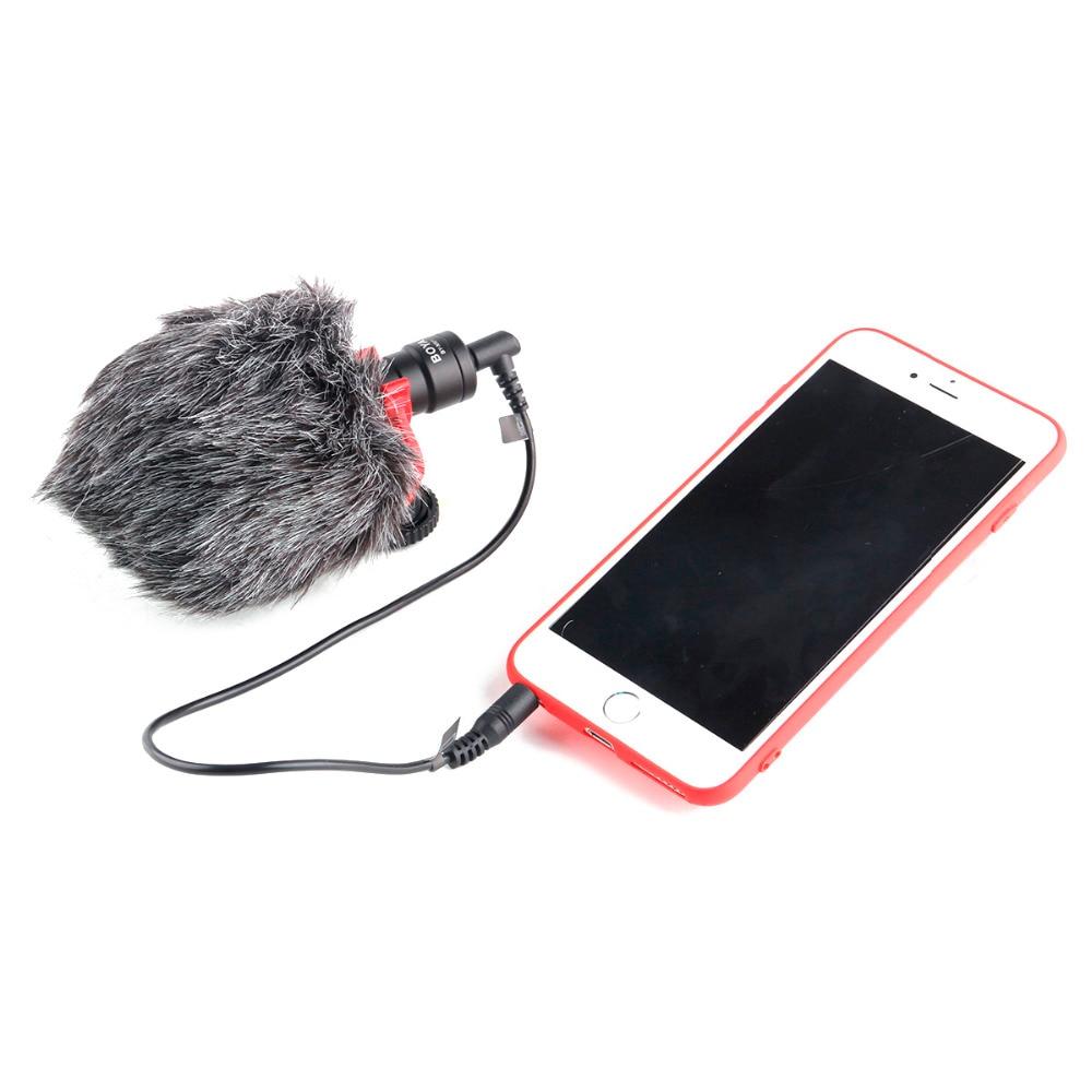 BOYA BY-MM1 cardioïde Microphone pour Smartphone DJI Osmo Nikon Canon DSLR Youtube Vlogging D'enregistrement 3.5 MM câble audio - 2