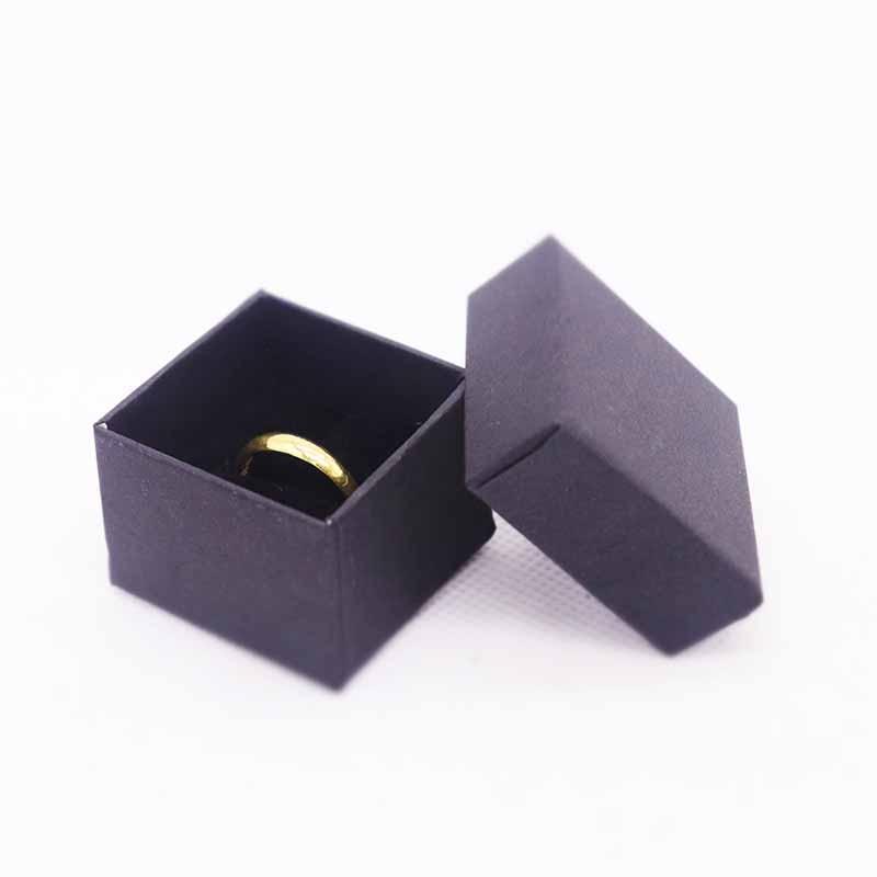 2015 New Kraft Ring Box High Quality  50pcs/Lot (Custom Logo Cost Extra MOQ : 1000 PCS )