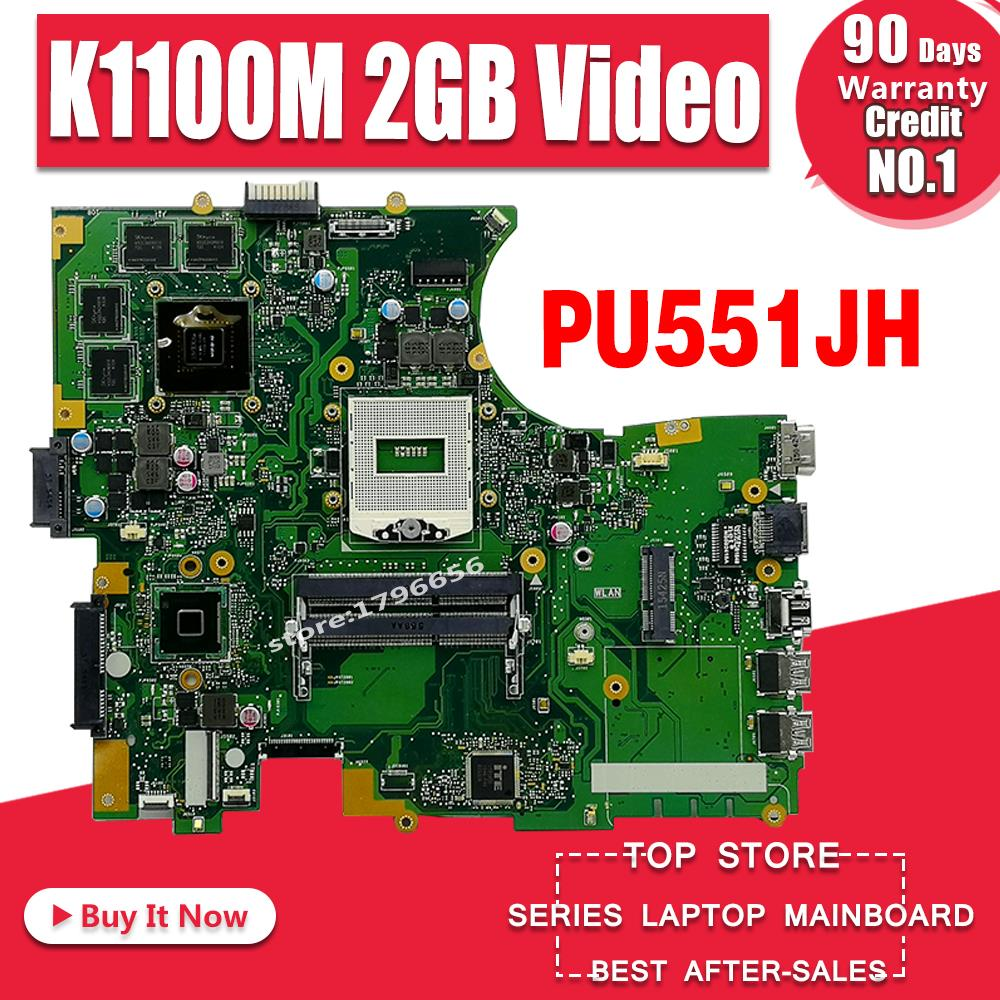 PU551JH Laptop motherboard for ASUS PU551JH PU551J PU551 Test original mainboard N15P-Q1 Quadro K1100M 2GB Video cardPU551JH Laptop motherboard for ASUS PU551JH PU551J PU551 Test original mainboard N15P-Q1 Quadro K1100M 2GB Video card