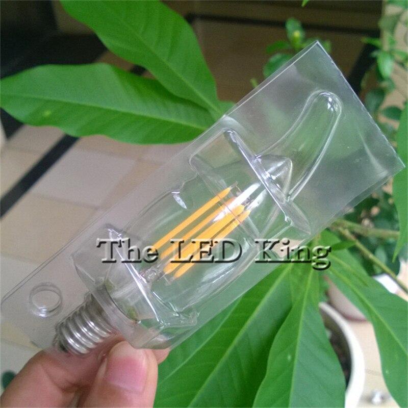 10 шт. светодиодный светильник Эдисона C35 C35L ST64 A60 винтажный Светодиодный светильник накаливания E14 220 в 240 В светильник 6 Вт 12 Вт 18 Вт Ретро ламп...