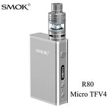 Smok micro Один R80 VAPE поле mod электронная сигарета комплект с Micro TFV4 вапоризатора VS istick Пико чужой AL85 детские комплект S222