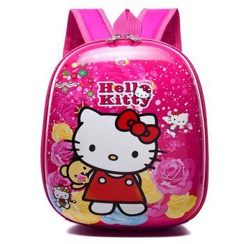 Detský 3D batoh Hello Kitty roztomilá – rôzne varianty