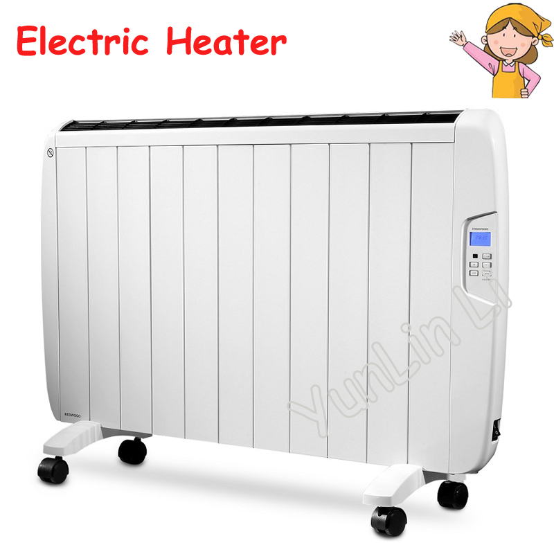 Household Electric Heater 1800W Movable Warm Heater Convection Energy-saving Drying Function Electric Radiator CA180DB все цены