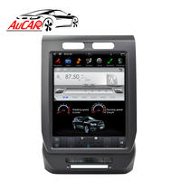 AuCAR Vertical Screen Tesla Style Android 12.1 Car Stereo For Ford F150 2015 2017 Touch Screen Radio Dvd Player GPS Navigation
