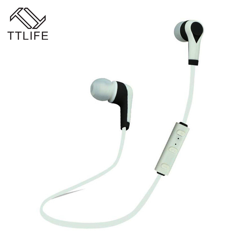 TTLIFE HiFi Stereo Bluetooth Earphone Sports Running Bluetooth Earbud Wireless Earphones Noise Cancelling Auriculares for Xiaomi