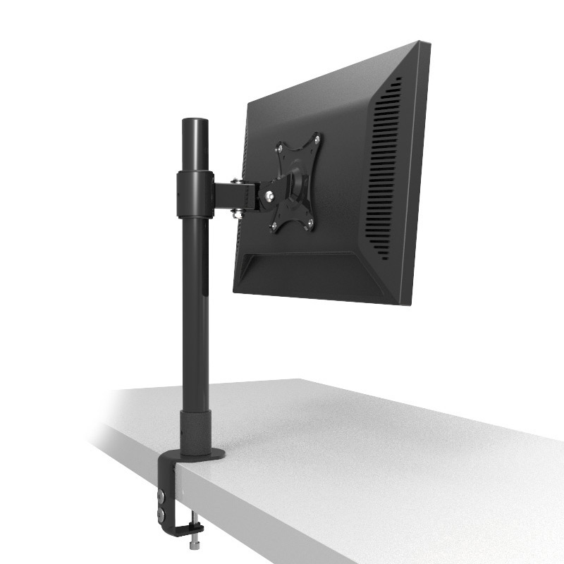 "Hyvarwey LC250/40 Desktop Mount Free Lifting Full Rotation 10-22"" LCD LED Monitor Holder Table Clamping Monitor Mount Support"