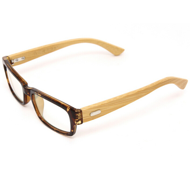 1a0b5e1b23 Italy Designer Handmade Bamboo Eyeglasses Frame Clear Lens Natural Wooden  Ultra Light Glasses Frames Myopia Eyewear Frame New