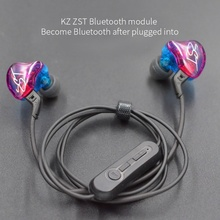 New KZ ZST/ZS3/ZS5/ED12/ZS6 Bluetooth 4.2 Wireless Upgrade Module Cable Detachable Cord Applies K5 цена