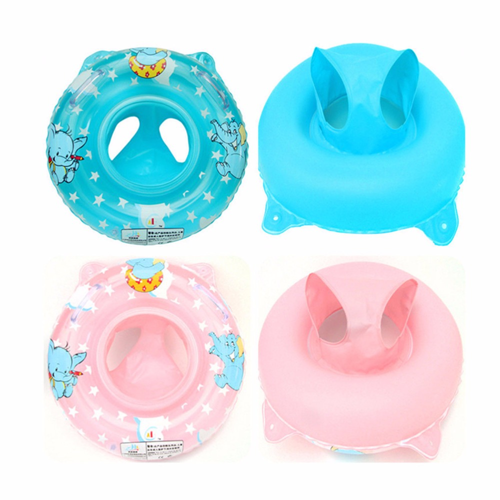 1PCS Baby Swimming Neck Float Ring Inflatable Kids Neck Float Safety Product Beach Accessories Baby Bathroom Accessories