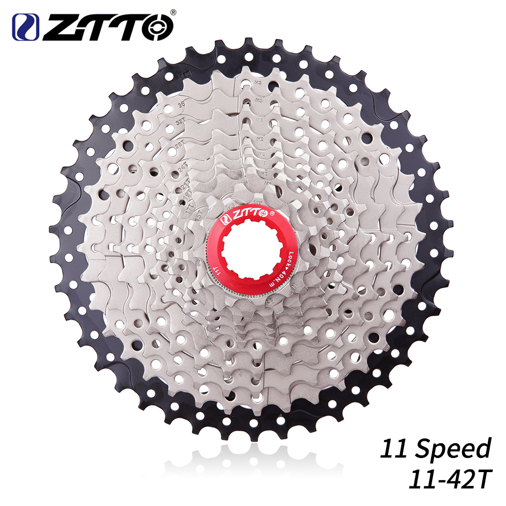 Sunshine Mtb Mountain Bike Bicycle 11 Speed 11-42t Cassettes 11s Cassette Silver Sporting Goods