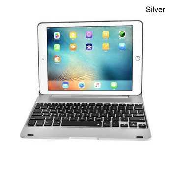 HOT Aluminum Bluetooth Keyboard Folio Cover Case for iPad Air 2 iPad Pro 9.7 Inch BUS66 Зарядное устройство