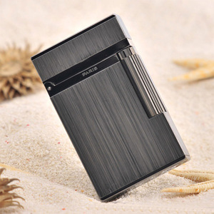 Image 2 - 100% New vintage dupont bright sound gas lighter windproof copper body for cigarette