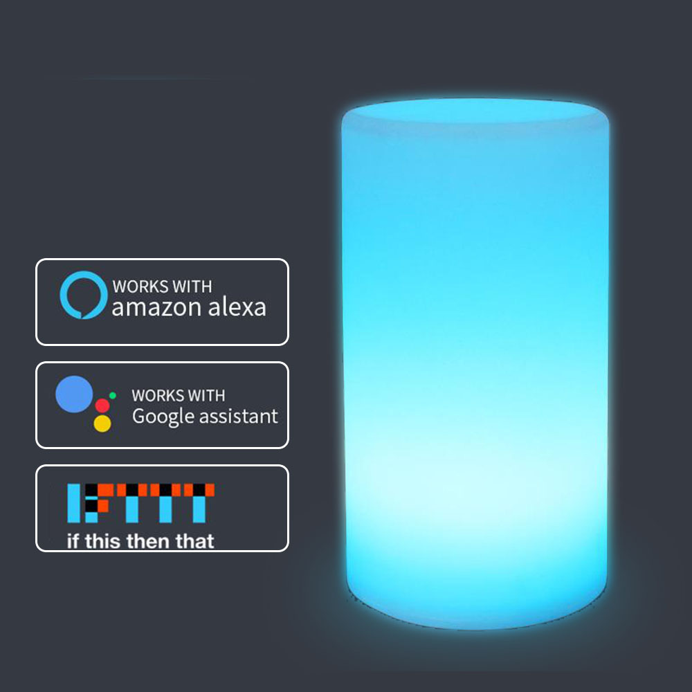 Colorful Children Lamp Ambient Light RGB Phone App Control Alexa Google Home Voice Christmas Gift