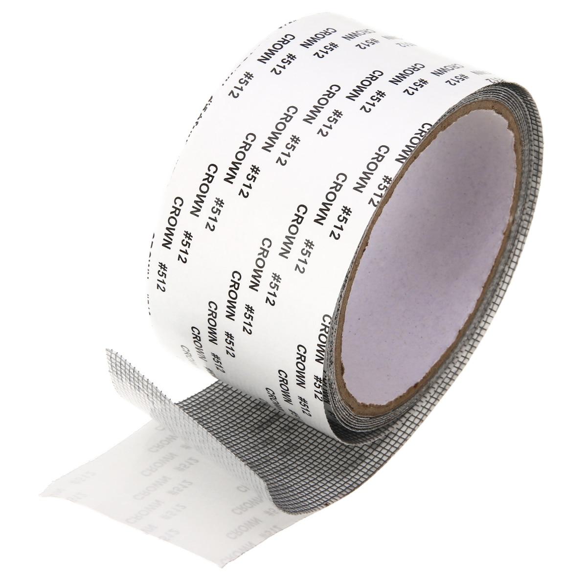 Screen Patch Repair Kit Window Screen Tape Fiberglass Covering Mesh 5*200cm