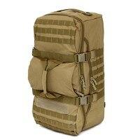 Grande Capacidade de 60L À Prova D' Água Bolsa Molle Militar Tactical Backpack Outdoor Sports Camping Escalada Camuflagem Sacos de Bagagem