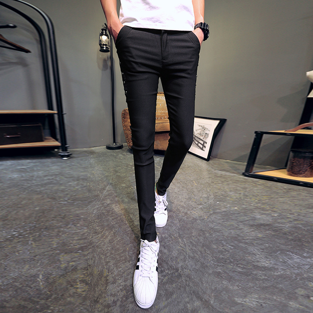 Brand New Men Summer Pants Fashion 2020 All Match Skinny Pants Men Streetwear Casual Trousers Men Hot Sale 1