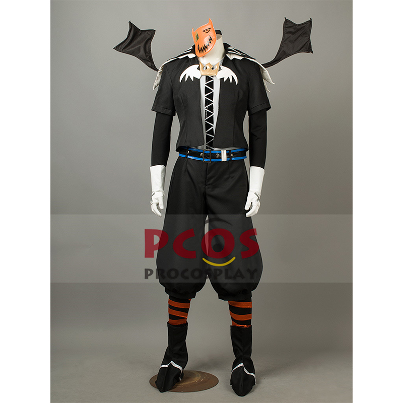 Kingdom Hearts Halloween Town Sora Costumi Cosplay Halloween's Day - Costumi di carnevale