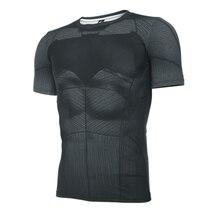 2016 Batman VS Superman short sleeve t shirt men printing cosplay anime tight-fitting fitness t-shirts man tshirt