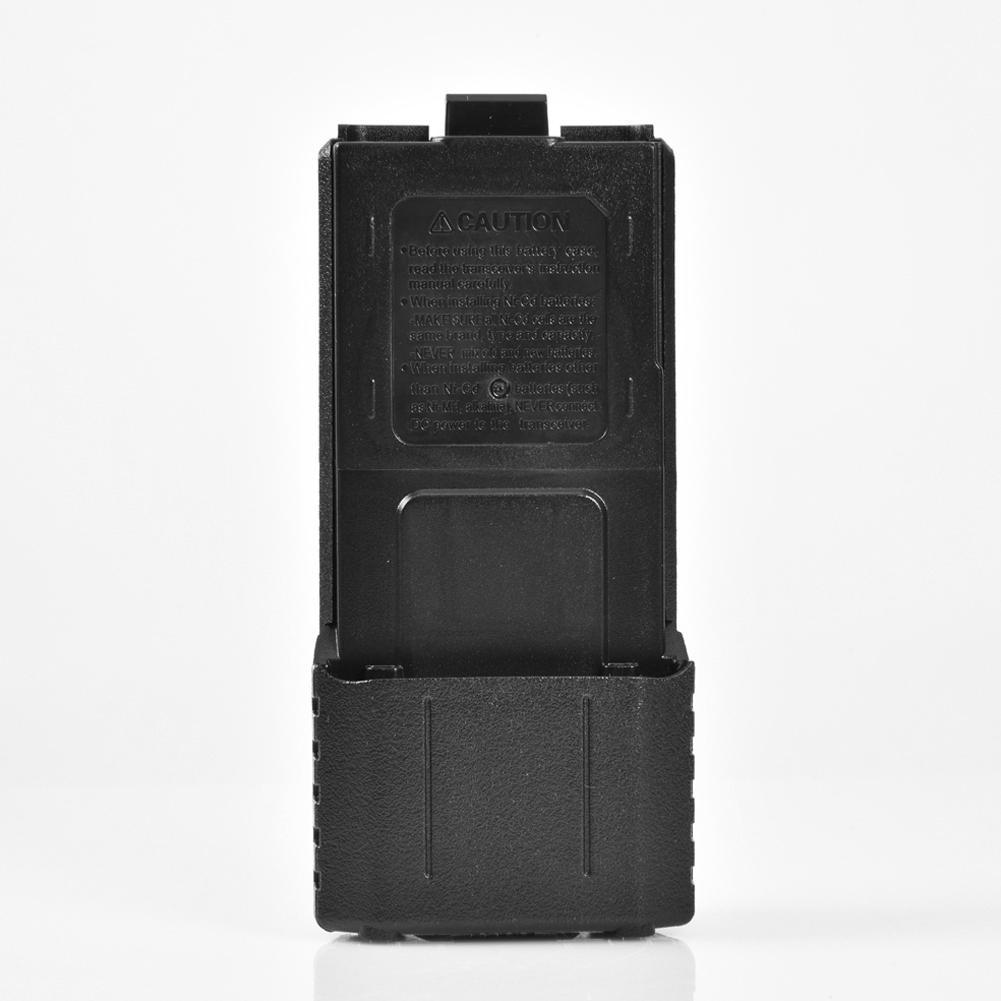 6 AA Battery Case Storage Box For Baofeng UV5R 5RA 5RB 5RA Plus BL5L Two Way Radio