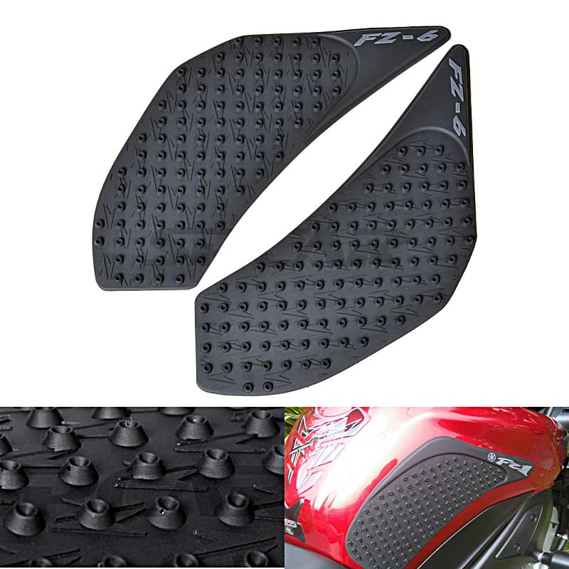 For Yamaha FZ6N 2006 2007 2008 2009 2010 FZ 6N FZ6 N Protector Anti slip Tank Pad Sticker Gas <font><b>Knee</b></font> Grip Traction Side 3M Decal