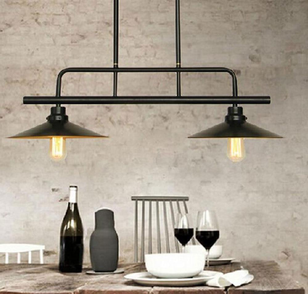 Vintage Pendant Light Industrial Edison Lamp American