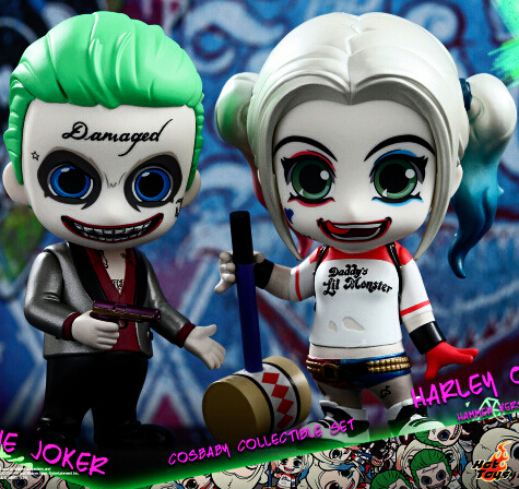 NEW hot 10cm 2pcs/set Suicide Squad Harley Quinn Joker action figure toys collection Christmas gift with box hot suicide squad messenger bags for students harley quinn school bags for girls funny joker printing rucksacks children mochila